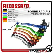 Accossato Racing Pompa Freno Radiale 19x18 Strada Pista CY023 RST - Brake Pump