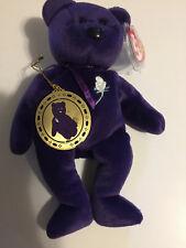 Lot of 18 Retired TY Beanie Babies-includes Rare Princess Diana Bear