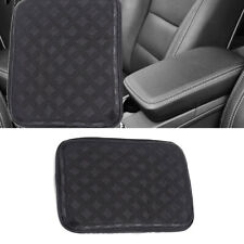 Car Armrest Pad Cover Center Console Box Cover Pu Leather Cushion Pads 30 x 21cm(Fits: More than one vehicle)