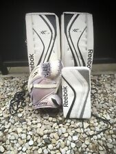 "Reebok Goalie Pads (28""+1"") powered by Lefevre w/ Intermediate Glove and Blocker"