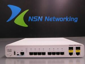 Cisco Catalyst 2960-CG WS-C2960CG-8TC-L 8-Port Gigabit Switch NO RACK EARS