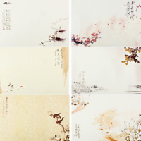 56 Sheets Printed Writing Paper Letter Pad Stationery Note Paper Vintage Chinese