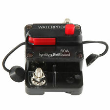 60A Circuit Breaker Trolling Car Marine Boat Atv Protect for Audio System Fuse