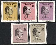 Turkey 1724-1728, MNH. Kemal Ataturk, 1966