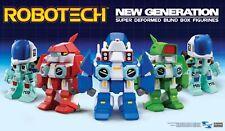 Robotech New Generation Super Deformed Figure - Complete set of 5 - NEW