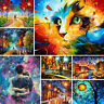 DIY Paint By Numbers Kit Digital Oil Painting Colorful Artwork Home Wall Decor