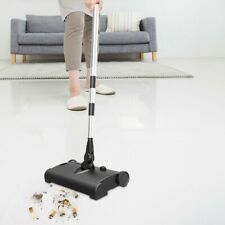 Household Floor Cordless Push Electric Sweeper Carpet Cleaner Sweep Mop Vacuum