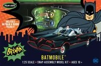 Polar Lights 1966 Batmobile Snap Together 1:25 scale model kit new 965
