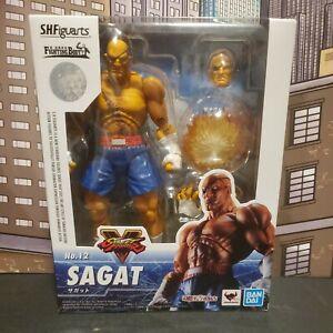 S.H. Figuarts No. 12 Sagat Street Fighter V Action Figure