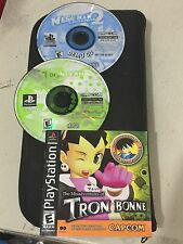 The Misadventures of Tron Bonne PlayStation 1 2000 PSX PS1, Manual & Demo