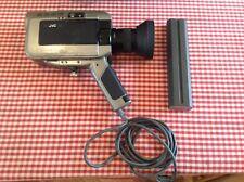 Vintage Retro JVC Colour Video Camera Camcorder GX-88E with leather bag