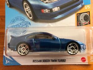 NEW 2021 Hot Wheels Nissan 300ZX Twin Turbo Datsun TURBO Series RARE
