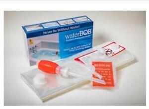 Water BOB Survival Emergency Drinking Fresh Water Storage 100 Gal. Kit BPA FREE
