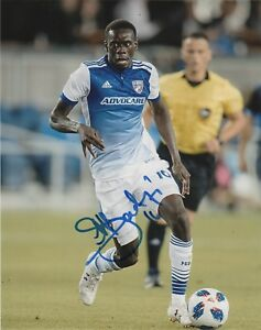 FC Dallas Dominique Badji Autographed Signed 8x10 MLS Photo COA A1
