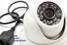 Microseven HD 1.3MP 960P H.264 Outdoor  Security Network IP Camera w POE Package