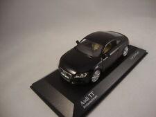 Coches, camiones y furgonetas de automodelismo y aeromodelismo color principal negro Audi escala 1:43