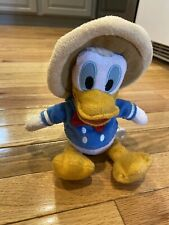 The Disney Store 10�Donald Duck Bean Bag Plush The Three Caballeros