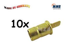 Simson 10x Ampoules de speedo remplacés MMB Douille/culot BA7s Douille de lampe