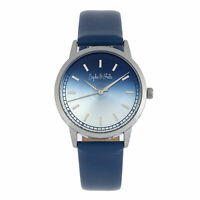 Sophie and Freda San Diego Leather-Band Watch - Blue