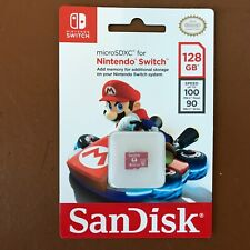 NEW SanDisk 128GB micro SDXC Memory Card For Nintendo Switch128 GB SD card