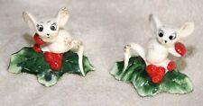 Holt Howard 1958 Jolly Holly Mouse Candle Hugger Climber Christmas
