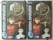 Panzer Dragoon Saga Sega Saturn Very Rare Perfect Condition