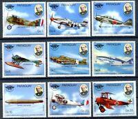 Paraguay MiNr. 3259-67 postfrisch MNH Luftfahrt (FZ802