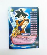 Dragonball Z CCG Goku fold out Personality card #159 / 160