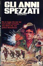 Gli anni spezzati  Gallipoli  (1981) VHS CiC 1a Ed. Peter Weir  Mel Gibson