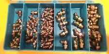 PRECISION BRAND 12945 Grease Fitting Kit, Strght,Stl, PK90 NOS