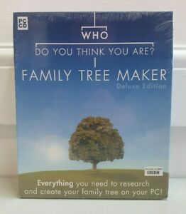 Who Do You Think You Are Family Tree Maker Deluxe 2005 *new & sealed* KP229
