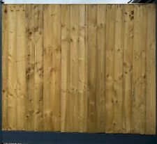 More details for heavy duty vertical close board feather edge fence panels