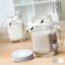 Velas decorativas aroma vainilla color principal blanco para el hogar