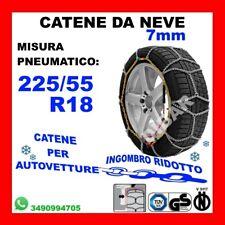 CATENE DA NEVE OMOLOGATE SMC 9mm PER PNEUMATICI 235 55 R 17 GRUPPO 130