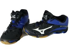 Mizuno Wave Lightning Womens Blue Black Athletic Shoes PYV 0316 Size 8 US 5.5 UK
