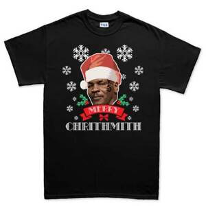 Merry Chrithmith Xmas Christmas Funny Boxing Mens T shirt Tee Top T-shirt