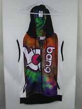 Bang Revolution Fuel Your Energy Sleeveless Full Zip Hoodie Sweatshirt Nwt Xl