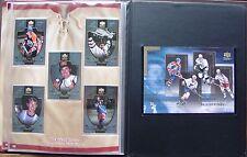 1999-00 MCDONALD'S UPPER DECK RETRO FACTORY SET/ ALBUM + GRETZKY - MINT - RARE