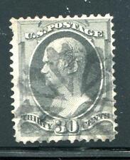 #165 - F/VF w/ near s.o.n. New York Foreign Mail Fancy Cancel - Premium Qual!