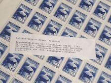 RUßLAND 3 ORIGINALBOGEN MIT JE 100 STÜCK FLUGPOST BRIEFMARKEN VON 1955