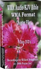 WMA KJV Audio Bible on 6 CDs Chapter Stereo 75Hrs