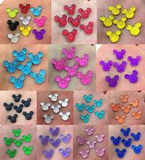 DIY 40-400pcs Cute Mickey's DIY Flat Back Resin Buttons Scrapbooking,crafts