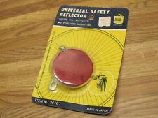 """Vintage CATEYE RR-210 Universal Safety Bicycle Reflector NOS Royce Union 2 1/4"""""""