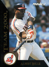 New listing 1992 Albert Belle at Cleveland Indians - Pinnacle #18