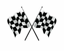 Checkered Flag Nascar Sticker Vinyl Decal 3-51