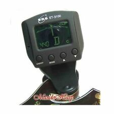 Eno ET-3100 Clip-On Backlit LCD Chromatic Tuner NEW