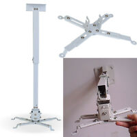 LCD DLP Tilting Extendable Projector Ceiling Wall Mount Bracket For Stands Wall