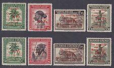 Belgian Congo & Ruanda Urundi 1944 MNH Red Cross Stamp set COMMON ISSUE....A6603