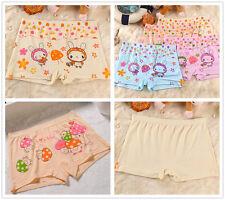 4 pcs Packed Cartoon GL Boxers Children Girl Briefs Panties Underpants Underwear