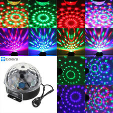 20W DMX512 Disco Stage Lighting Digital LED RGB Crystal Magic Ball Effect Light